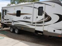 . 2013 Cougar travel trailer. 25RLSWE only 3100 miles