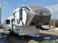 2013 Cougar RVs 327RES Awesome Floor Plan! For nine
