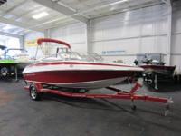 ALMOST LIKE NEW 2013 CROWLINE 18 SS WITH ONLY 11 ENGINE
