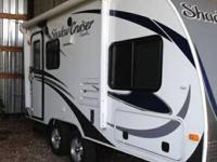2013 Cruiser RV Shadow Cruiser M185FBS. This is a