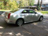 2013 Cadillac CTS Radiant Silver Metallic 3.0 L V6 270