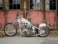 Chop Shop Rigid, bike was originally built as an in