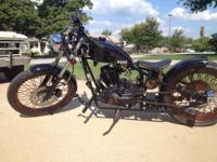 2013 Custom motorcycle built in Las Vegas Nevada. Its a
