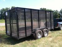 2013 Custom Enclosed Utility Trailer for Sale.  Weight