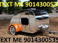Teardrop Trailer, with extension on the front of