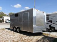 A 16' Cargo Trailer with power jack requires a new home