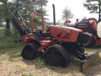 2013 Ditch Witch RT80 Quad RT80Q Quad Track Trencher