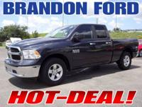 Only 18K Miles on this Locally Owned Ram Tough Crew Cab