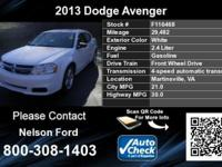 Call Nelson Ford at  This is a CARFAX 1-Owner vehicle.