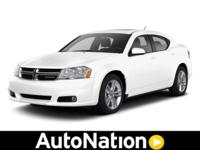 2013 Dodge Avenger Our Location is: Autonation Chrysler