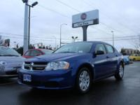 Barrels of fun!!! This 2013 Dodge Avenger SE has less