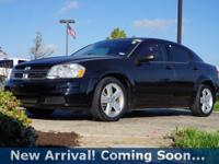 2013 Dodge Avenger SE in Black Clearcoat, This Avenger