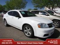 Options:  2013 Dodge Avenger Se|Se 4Dr Sedan|Only