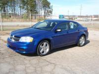 Options:  2013 Dodge Avenger Se 4 Door