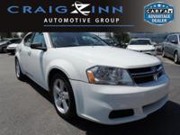 New Arrival! This 2013 Dodge Avenger SE will sell fast