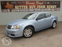 This Dodge Avenger is an One Owner in great condition.