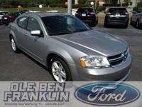 Options:  2013 Dodge Avenger Sxt|Silver/|V4 2.4L