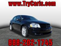 2013 Dodge Avenger SXT with Alloy Wheels, Automatic