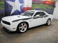 *Purchase this sporty white 2013 Dodge Challenger R/T