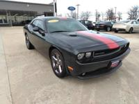 This 2013 Dodge Challenger Rallye Redline is proudly