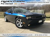 Options:  2013 Dodge Challenger Sxt|Black
