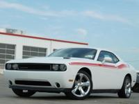 2013 Dodge Challenger Bright White Clearcoat 5-Speed