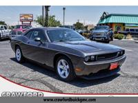 Gray 2013 Dodge Challenger SXT RWD 5-Speed Automatic
