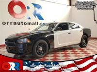 White 2013 Dodge Charger Police RWD 5-Speed Automatic