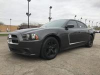 2013 DODGE CHARGER SE. FOUR DOOR. RWD. WITH 46155