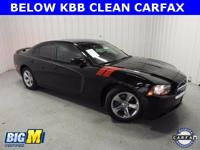 Pitch Black 2013 Dodge Charger SXT RWD 8-Speed