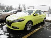 2013 Dodge Dart SXT Ralley, Citrus Peel Pearlcoat with