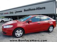 Clean CARFAX. 2013 Dodge Dart SE/AERO FWD 6-Speed