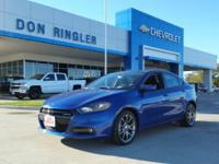 6spd! Turbocharged! This 2013 Dart is for Dodge nuts