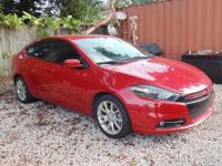 Options:  2013 Dodge Dart Sxt/Rallye|Red|Turbo! Red And