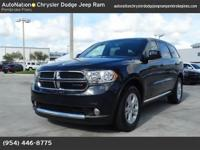 As a Certified Pre-Owned vehicle| this Durango SXT