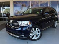 REMIANDER OF FACTORY PT WARRANTY Durango Crew. CARFAX