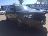 Options:  2013 Dodge Durango 2Wd 4Dr R/T Used|Black
