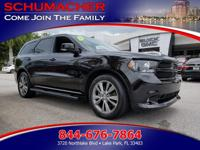 Options:  2013 Dodge Durango R/T| |Advanced Front Seat