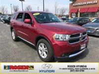 **HARD TO FIND** 2013 Dodge Durango SXT AWD with only