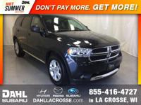 2013 Dodge Durango SXT AWD 3rd row seats: split-bench,