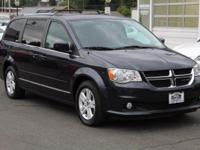 CARFAX One-Owner. Blue 2013 Dodge Grand Caravan Crew
