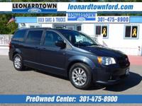 Grand Caravan w/ Navigation - Leather - Rear seat