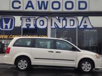 Options:  2013 Dodge Grand Caravan Se|White|8 Passenger