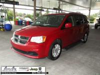 New Price! Clean CARFAX. Red 2013 Dodge Grand Caravan