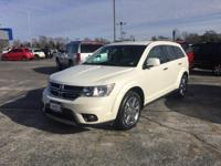 CARFAX One-Owner. White 2013 Dodge Journey Crew FWD