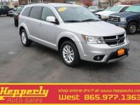 This 2013 Dodge Journey SXT In Silver features a FREE