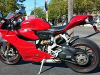 With this race set-up the 1199 Panigale S is