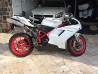 2013 Ducati 848 EVO120 Miles Can not find a more recent