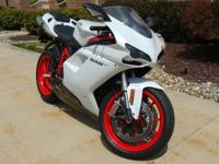 The 2013 DUCATI 848 EVO is the lightest superbike ever