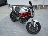 2013 Ducati Monster 796 with ABS, only 288 miles in a